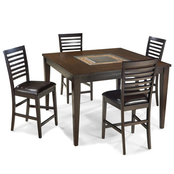 Intercon Kashi 54-inch Square Gathering Table