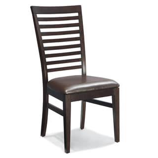 Kashi Slat Ladder-back Dining Chairs (Set of 2)
