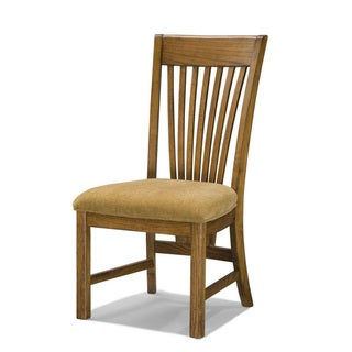 Lodge Park Solid Oak Dining Chairs (Set of 2)