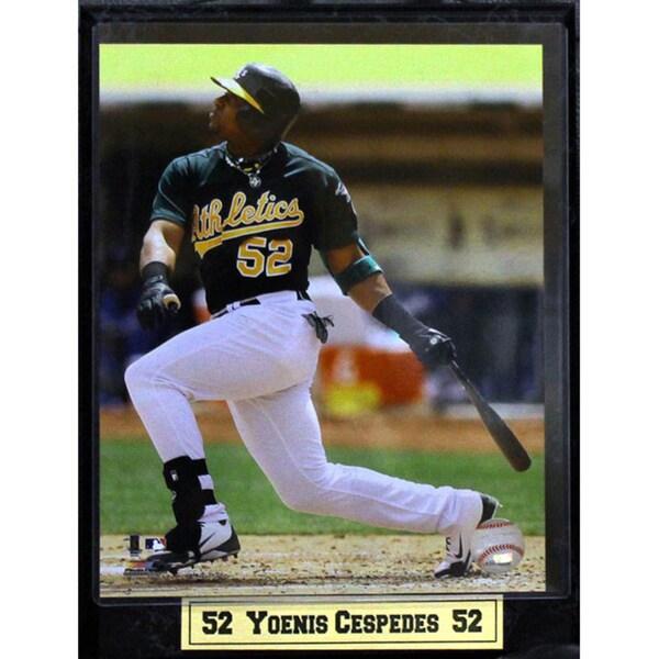 Yoenis Cespedes Oakland A's 9x12-inch Photo Plaque