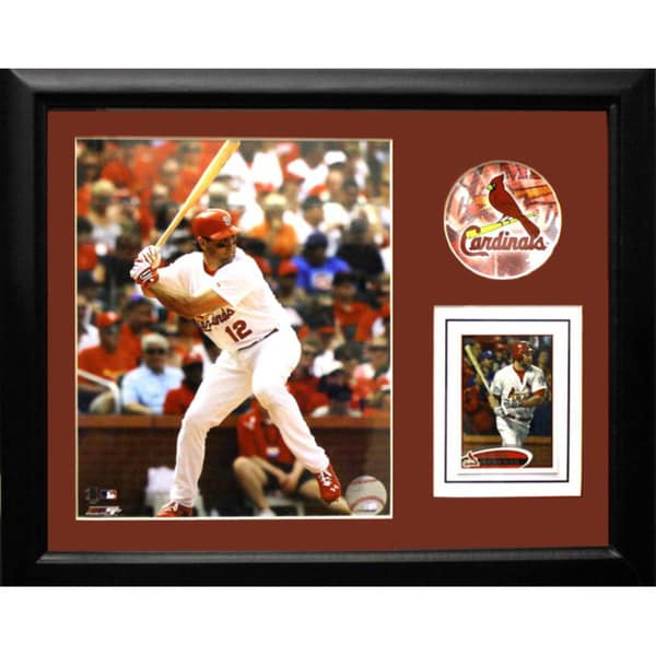 St. Louis Cardinals Lance Berkman 11x14 Deluxe Stat Frame