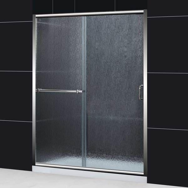Dreamline Infinity Plus 56 60x72 Rain Glass Sliding Shower