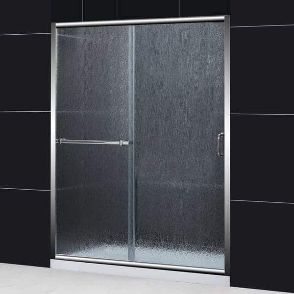 Shop Dreamline Infinity Plus 56 60x72 Rain Glass Sliding