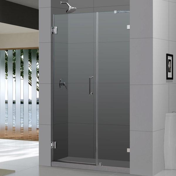 DreamLine Unidoor Lux 45-inch Frameless Hinged Shower Door