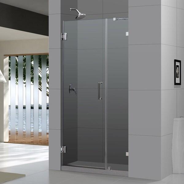 Dreamline Unidoor Lux 41 Inch Frameless Hinged Shower Door