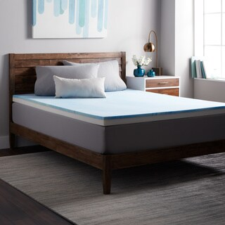Select Luxury Combo 3-inch Gel Memory Restore-a-Mattress Medium Firm Topper