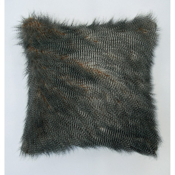 Jar Designs 'Ostrich Fur' Throw Pillow