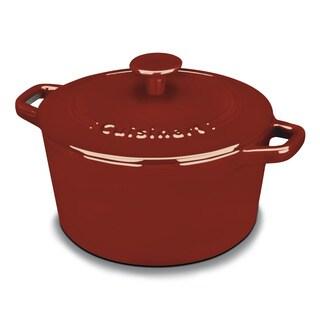 Cuisinart Red 3-quart Round Casserole Cookware