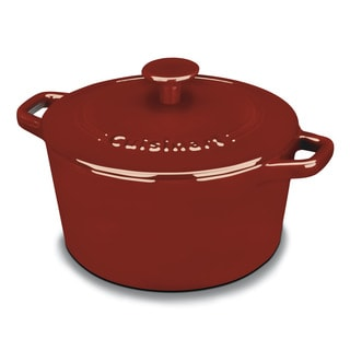 Link to Cuisinart Red 3-quart Round Casserole Cookware Similar Items in Cookware