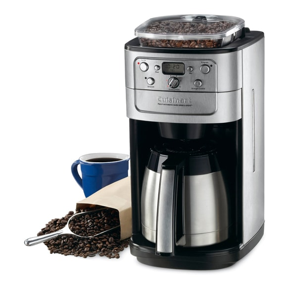 Cuisinart DGB-900BC Brushed Chrome 12-cup Coffeemaker
