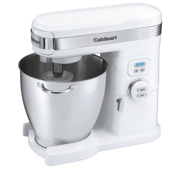 Shop Cuisinart SM 70 White 7 Qt. Stand Mixer   Free Shipping Today    Overstock   7509819