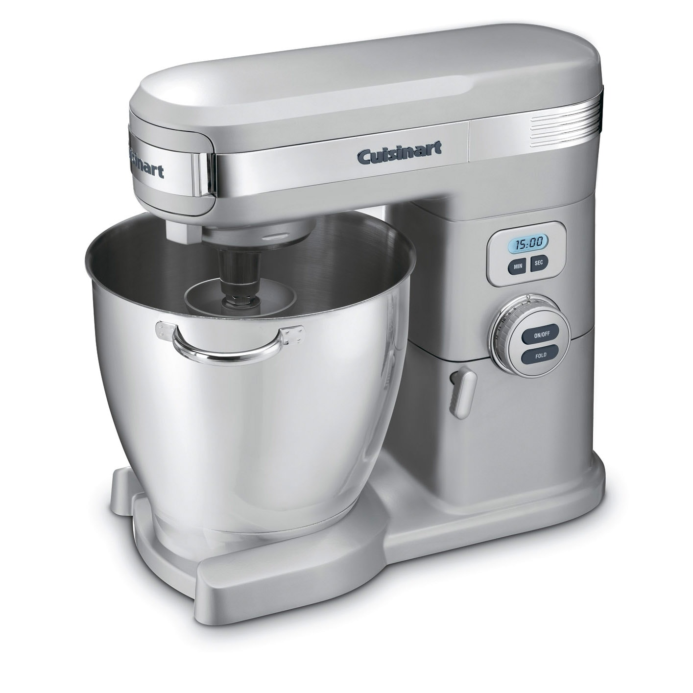 Cuisinart SM-70BC Brushed Chrome 7-quart Stand Mixer, Sil...