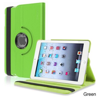 INSTEN Leather Swivel Tablet Case Cover for Apple iPad Mini 1/ 2 Retina Display (Option: Green)