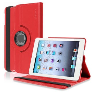 INSTEN Leather Swivel Tablet Case Cover for Apple iPad Mini 1/ 2 Retina Display