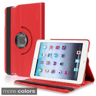 Insten Leather Swivel Tablet Case Cover for Apple iPad Mini 1/2 Retina Display