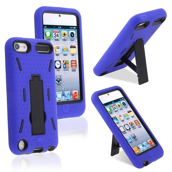BasAcc Black Hard/ Blue Skin Hybrid Case for Apple iPhone 5
