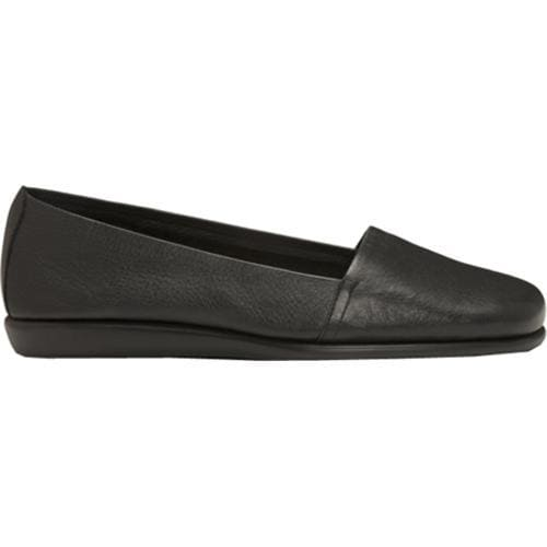 Women's Aerosoles Mr Softee Black Leather