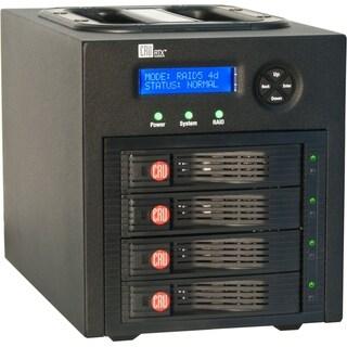 CRU RTX RTX430-3QR DAS Array - 4 x HDD Supported - 16 TB Supported HD