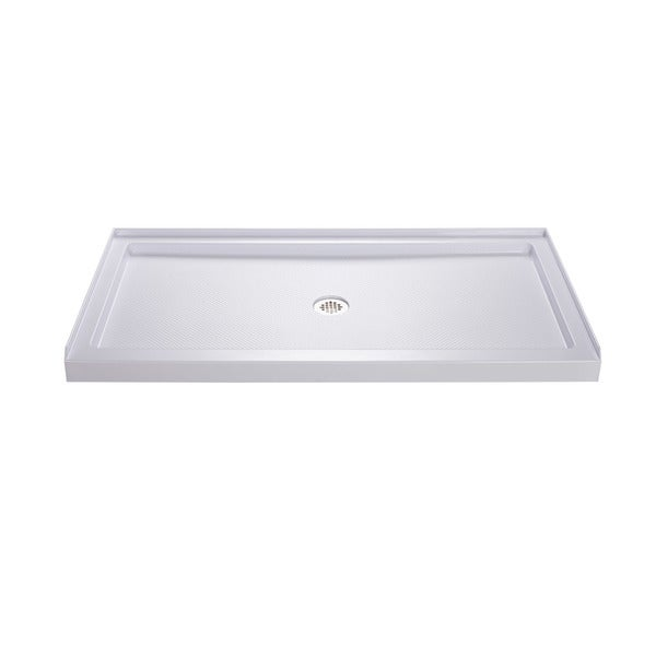 DreamLine SlimLine 30 in. by 60 in. Single Threshold Shower Base