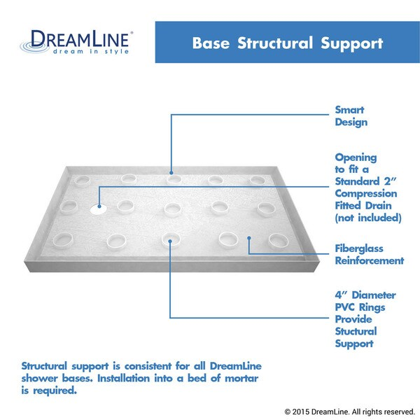 Single Threshold Shower Base   Free Shipping Today   Overstock.com    14951175