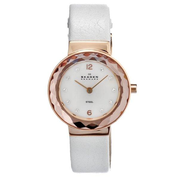 Skagen Women's Rose-gold Steel Glitz Watch