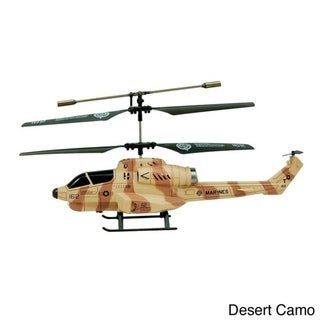 Cobra 3.5-channel Co-axial RC Missile Launching Helicopter RTF