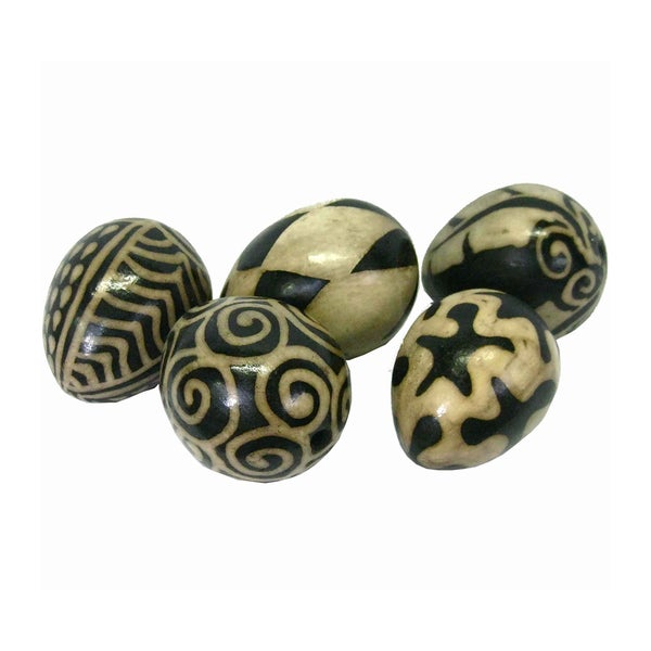 Set of 5 Clay Fertility Eggs (Honduras)