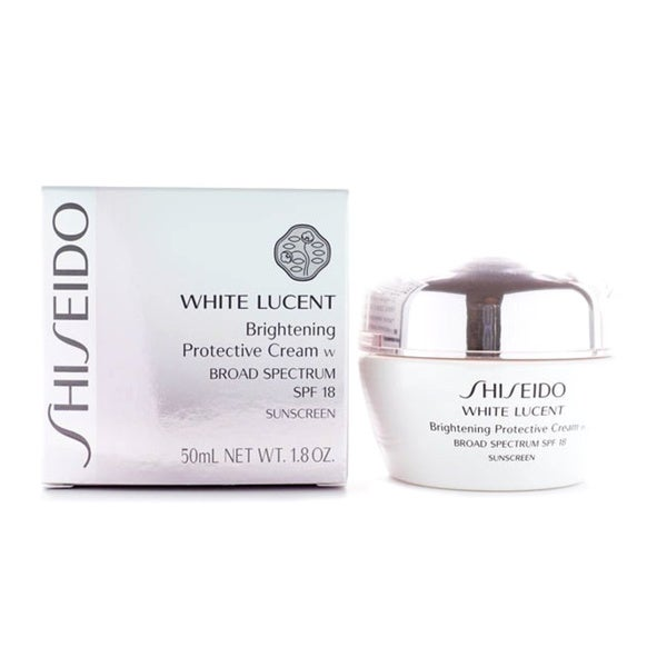 Shiseido White Lucent Brightening SPF18 Protective Cream