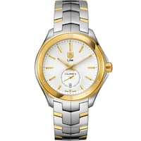 Tag Heuer Men's  'Link' 18kt Yellow Gold Automatic Two-Tone Stainless Steel Watch