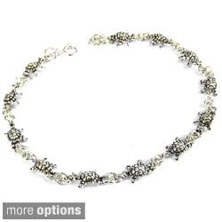 Mini Sea Turtle Link Silver Bracelet (Thailand)