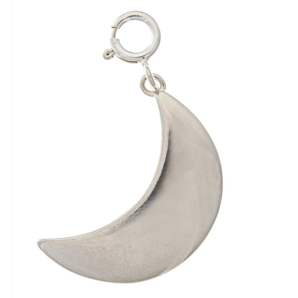 Sterling Silver Moon Charm