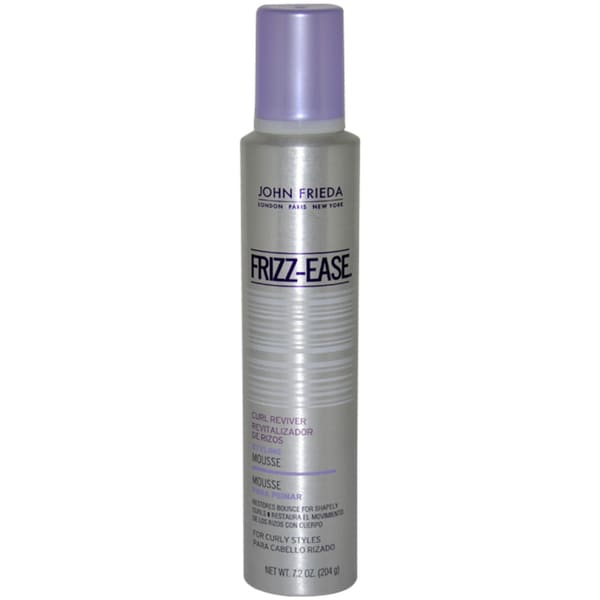 John Frieda Frizz-Ease Curl Reviver 7.2-ounce Styling Mousse