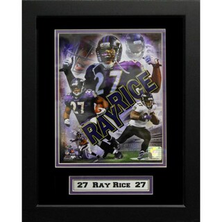 Ray Rice Baltimore Ravens 11x14-inch Deluxe Frame