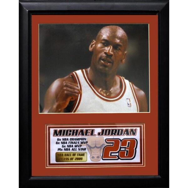 Michael Jordan Chicago Bulls 11x14-inch Deluxe Photo Frame