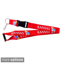 Aminco International NCAA Clip Lanyard Keychain Id Ticket Holder