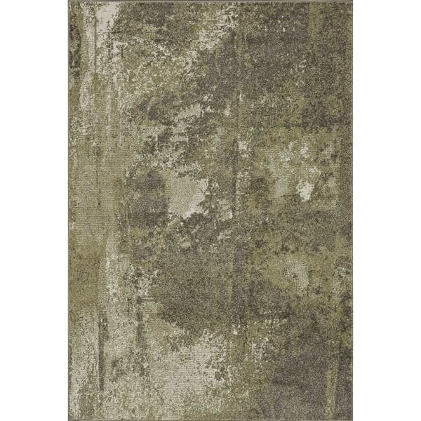 Arrakis Green/ Taupe Rug (7'7 x 10'5)