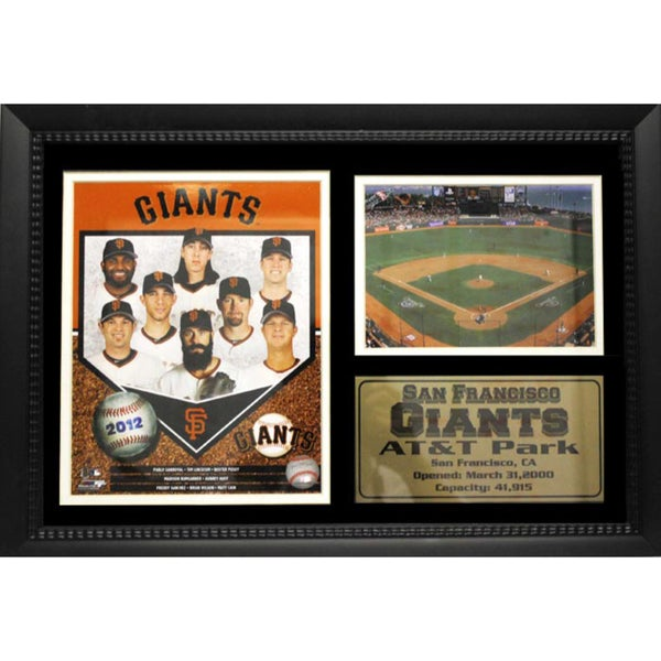 San Francisco Giants 2012 12x18-inch Photo Stat Frame