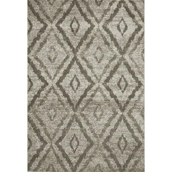 Arrakis Ivory/ Taupe Rug (3'9 x 5'6)