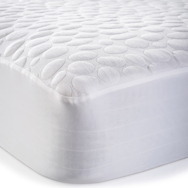 waterproof mattress protector. Christopher Knight Home Pebbletex Tencel Waterproof Mattress Protector -  White Waterproof Mattress Protector ,
