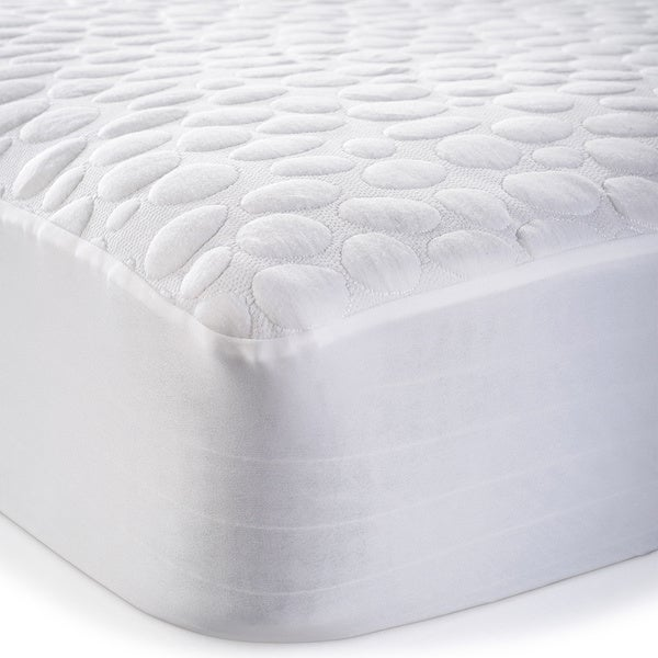 Christopher Knight Home Pebbletex Tencel Waterproof Mattress Protector