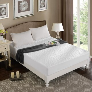 Christopher Knight Home Pebbletex Tencel Waterproof Mattress Protector - White (More options available)