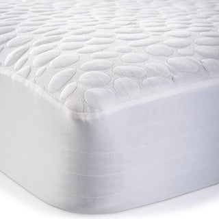 Christopher Knight Home Pebbletex Tencel Waterproof Mattress Protector - White