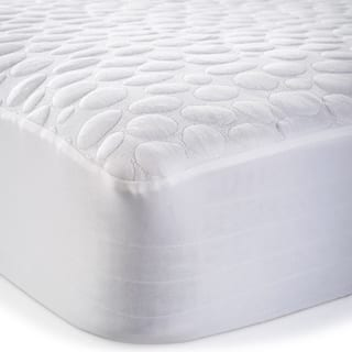 Christopher Knight Home Pebbletex Tencel Waterproof Mattress Protector - White|https://ak1.ostkcdn.com/images/products/7511775/P14951900.jpg?impolicy=medium