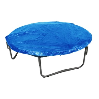 14-foot Round Blue Trampoline Protection Cover