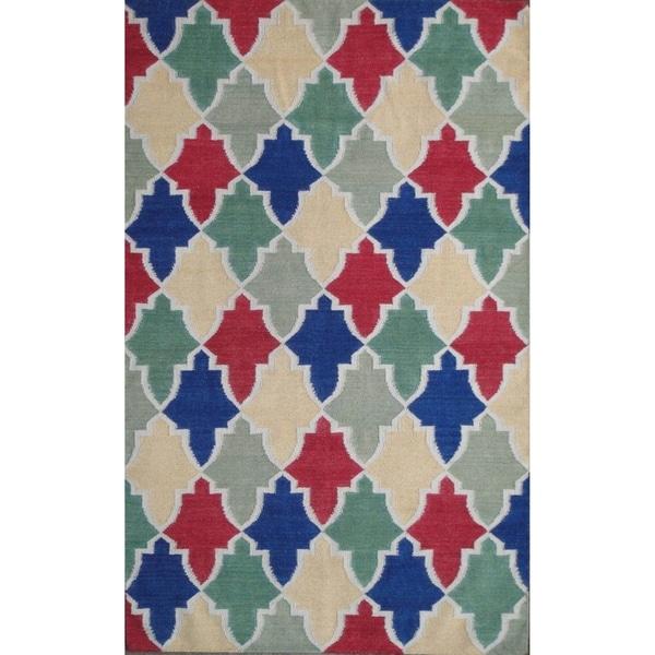 Shop Safavieh Hand-woven Moroccan Reversible Dhurrie Wool