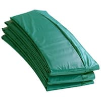 Upper Bounce 14-foot Round Green Super Trampoline Safety Pad