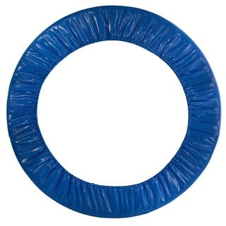 38-inch Round Blue Trampoline Safety Pad for 6 Legs