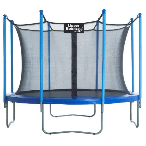 Upper Bounce 10 ft. Trampoline and Enclosure Set