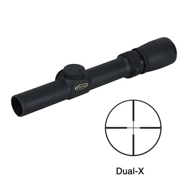 Weaver Classic V 1-3x20mm Dual-X Reticle Rifle Scope