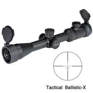 Weaver Kaspa 3-12x44mm Tactical Ballistic-X Reticle Rifle Scope